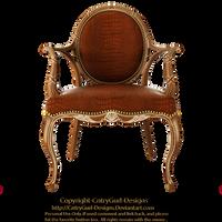 Brown Chair 03 by CntryGurl-Designs