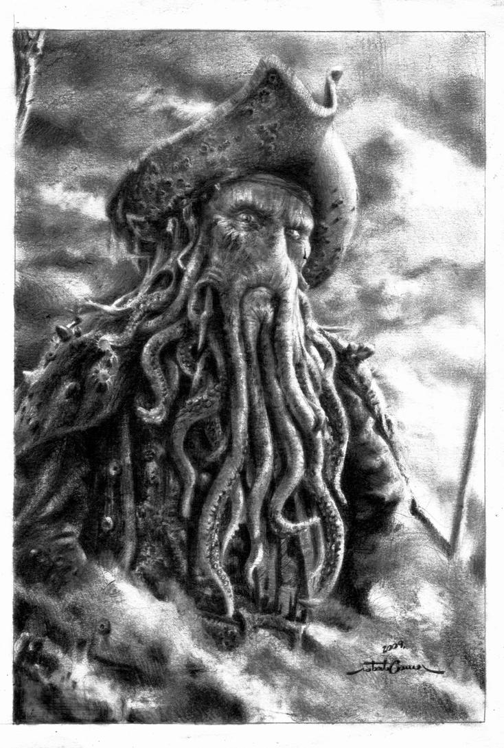 how to draw the kraken from pirates of the caribbean