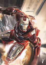 Iron Man Study by ISignRob