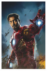 The Avengers - Iron Man by ISignRob