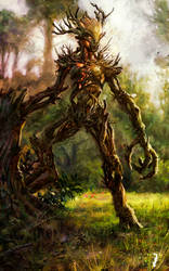 Elder Scrolls - Spriggan by ISignRob