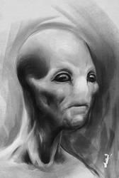 Grey Sketch 001 by ISignRob