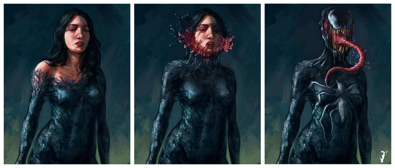 Commission - Venom by ISignRob
