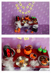Miniature Halloween table 2013