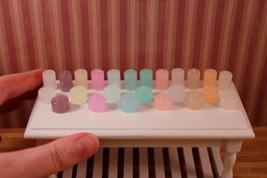 Miniature candles