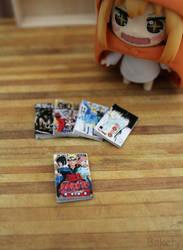 Miniature manga by EmisBakery