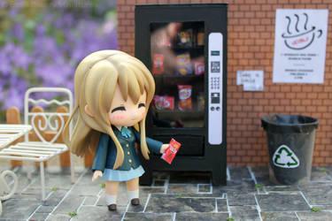 Handmade miniature vending machine