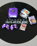Miniature Game Cube and games by EmisBakery