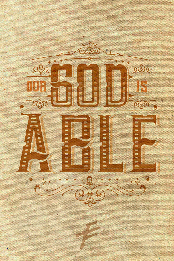 God Is Able by janmil000