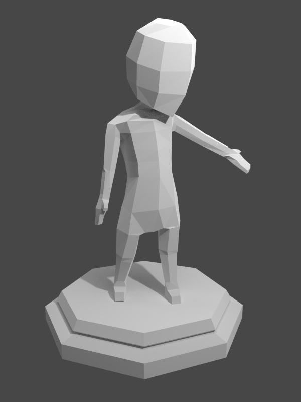 Low Poly Character By VPellen On DeviantArt