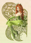 poison ivy color
