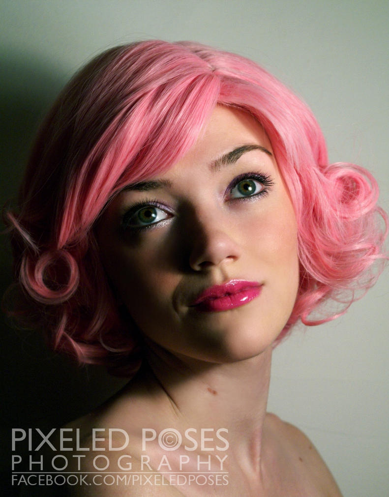 Gothic Lolita Wigs - Pink Bob by PixeledPoses on DeviantArt