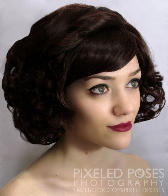 Gothic Lolita Wigs - Dark Brown Bob by PixeledPoses on ...