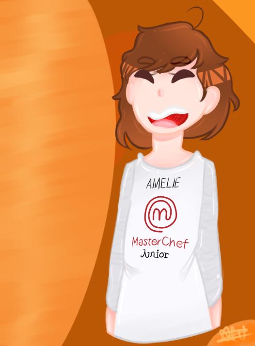 Amelie. Master Chef Junior Mx 2017. by Ha-Yuzuki
