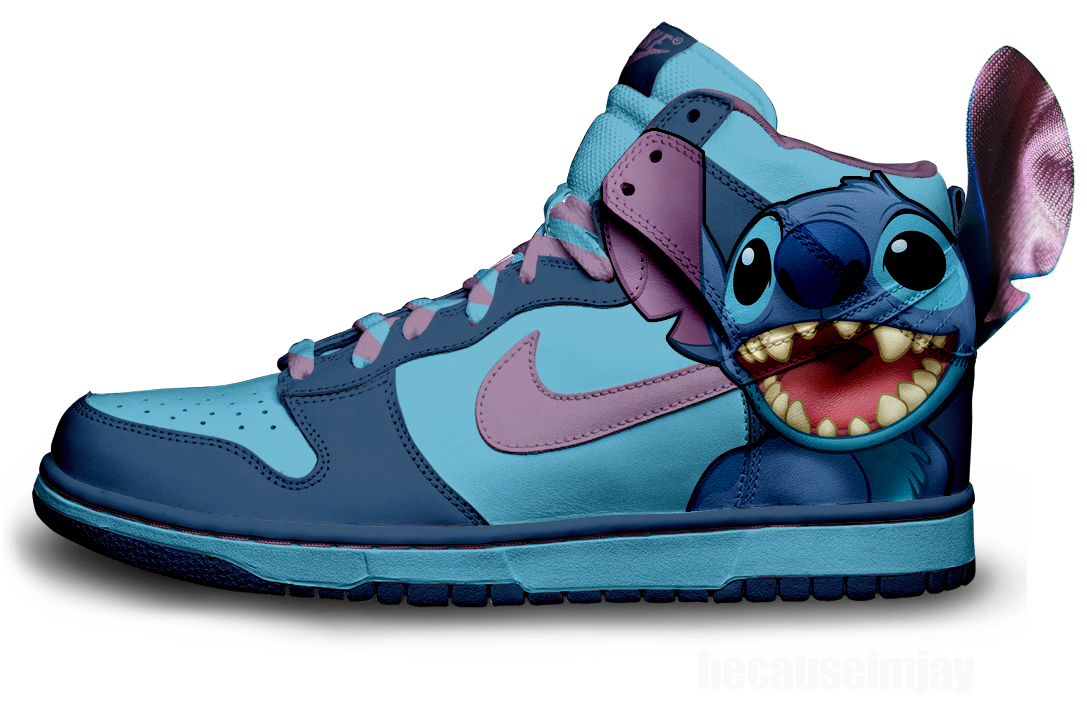 cartoon nike dunks for sale