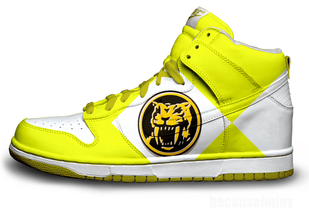 Green Yellow Nike Shoes