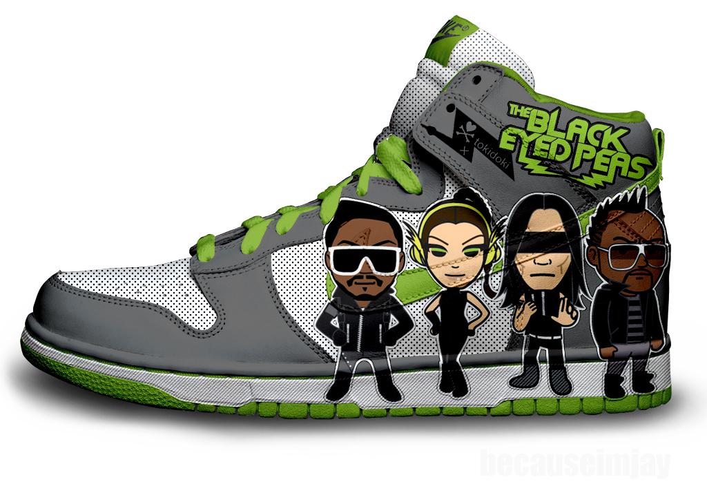 Black Eyed Peas Nike Dunks