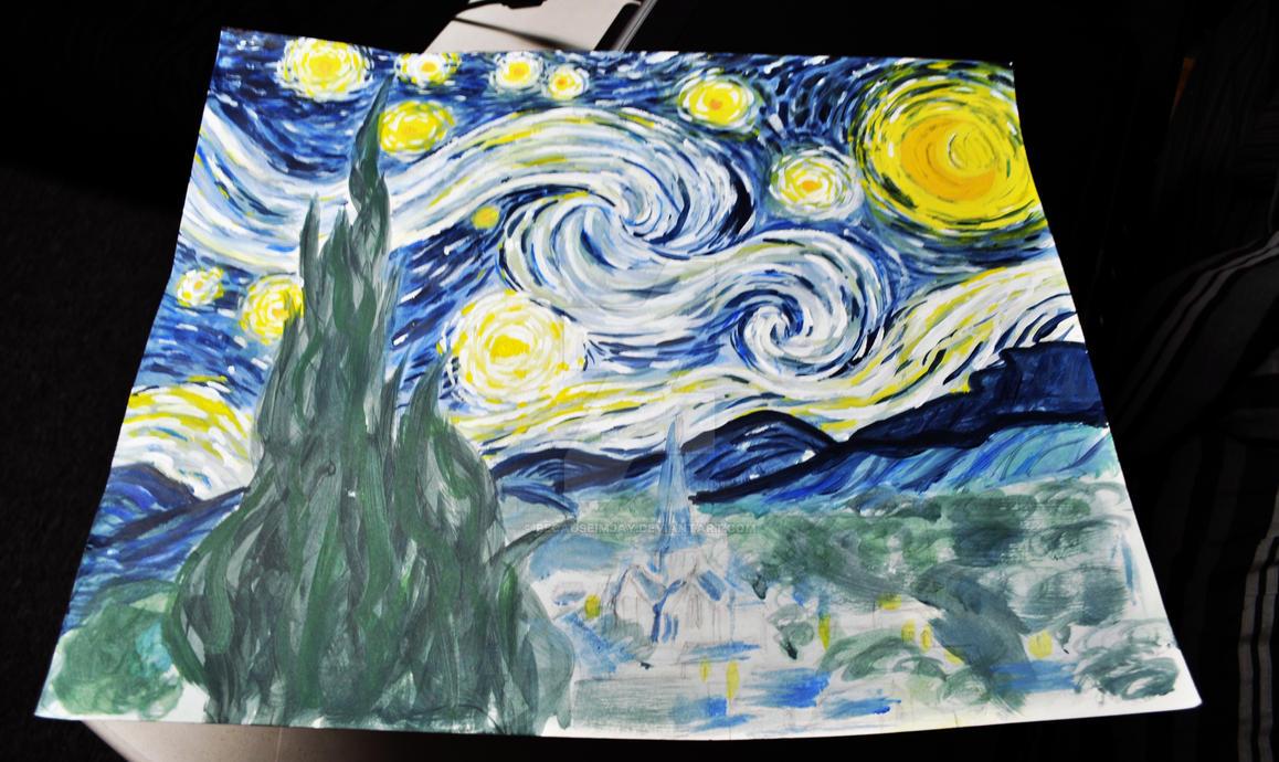 starry night interpretation