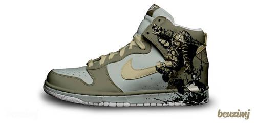 Bioshock Nike Dunks