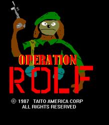 Operation ROLF by DanTheRawr