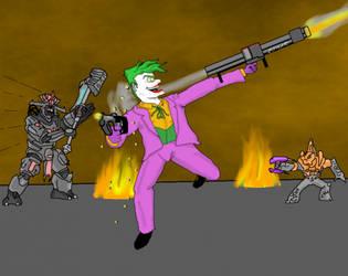 Covenant vs. Joker by DanTheRawr