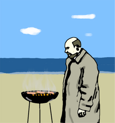 Doctor Loomis on Labor Day by DanTheRawr