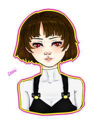 Persona5 makoto by DeeNII