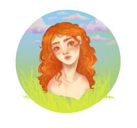 Redhead by DeeNII
