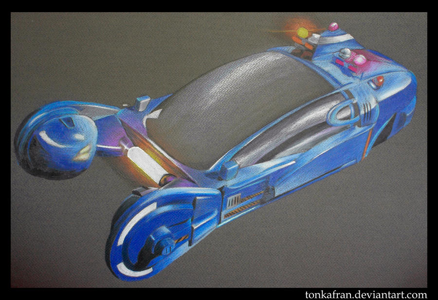 blade runner car by tonkafran on deviantart. Black Bedroom Furniture Sets. Home Design Ideas