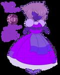 SU OC: Violet Sapphire