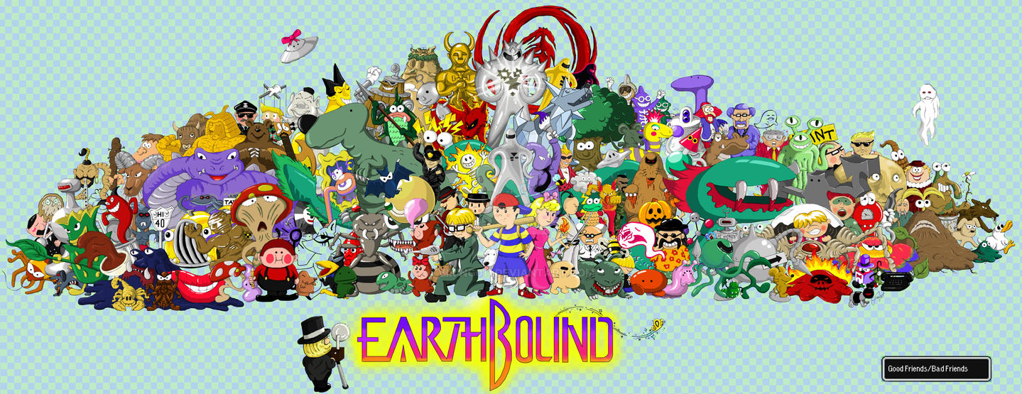 Earthbound Poster by Viking011 on DeviantArt
