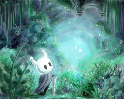 Hollow Knight Greenpath