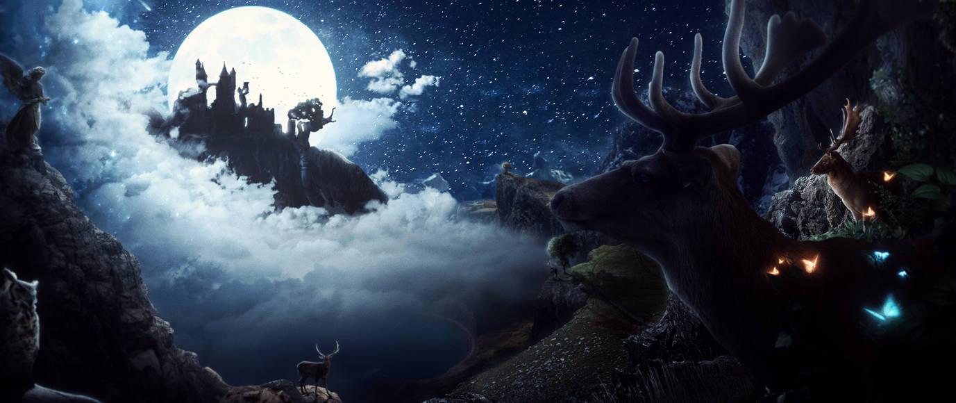 The Castle of Moon by BlueReva