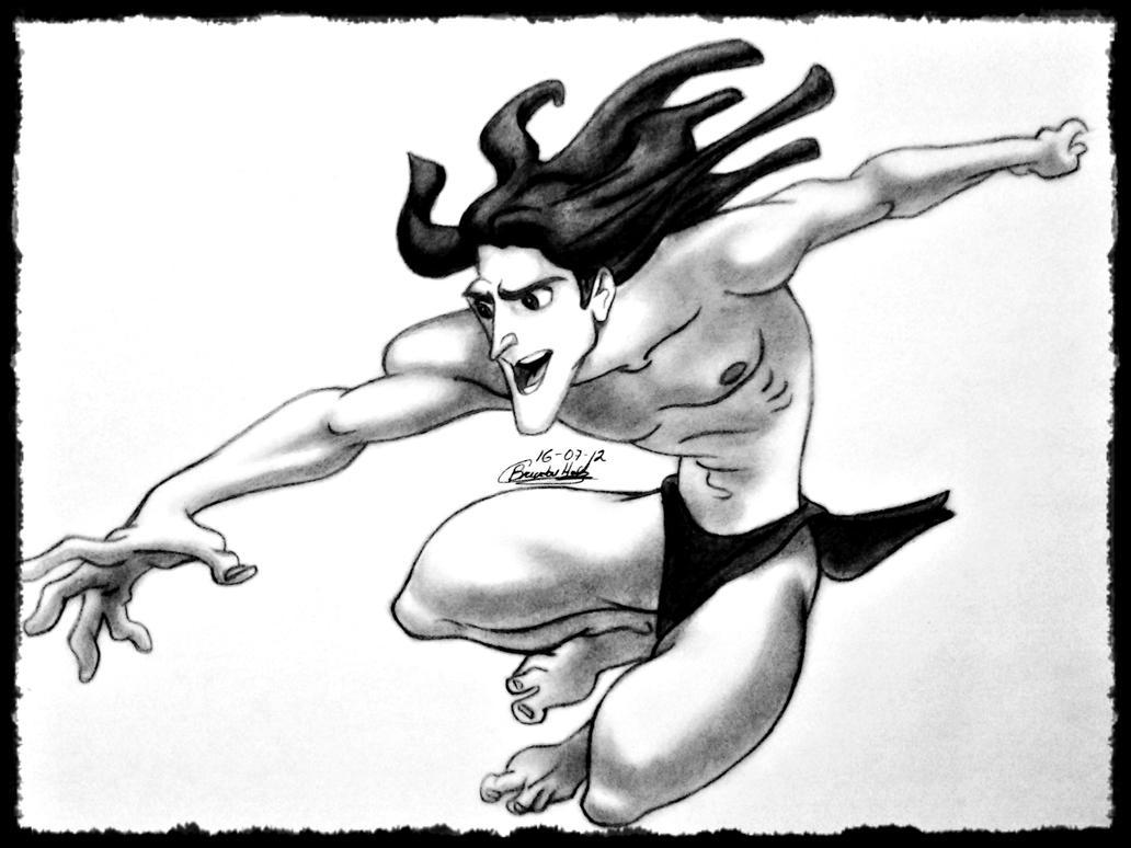 Uncategorized Tarzan Drawing tarzan by bhv93 on deviantart bhv93