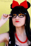 Hipster Minnie Mouse