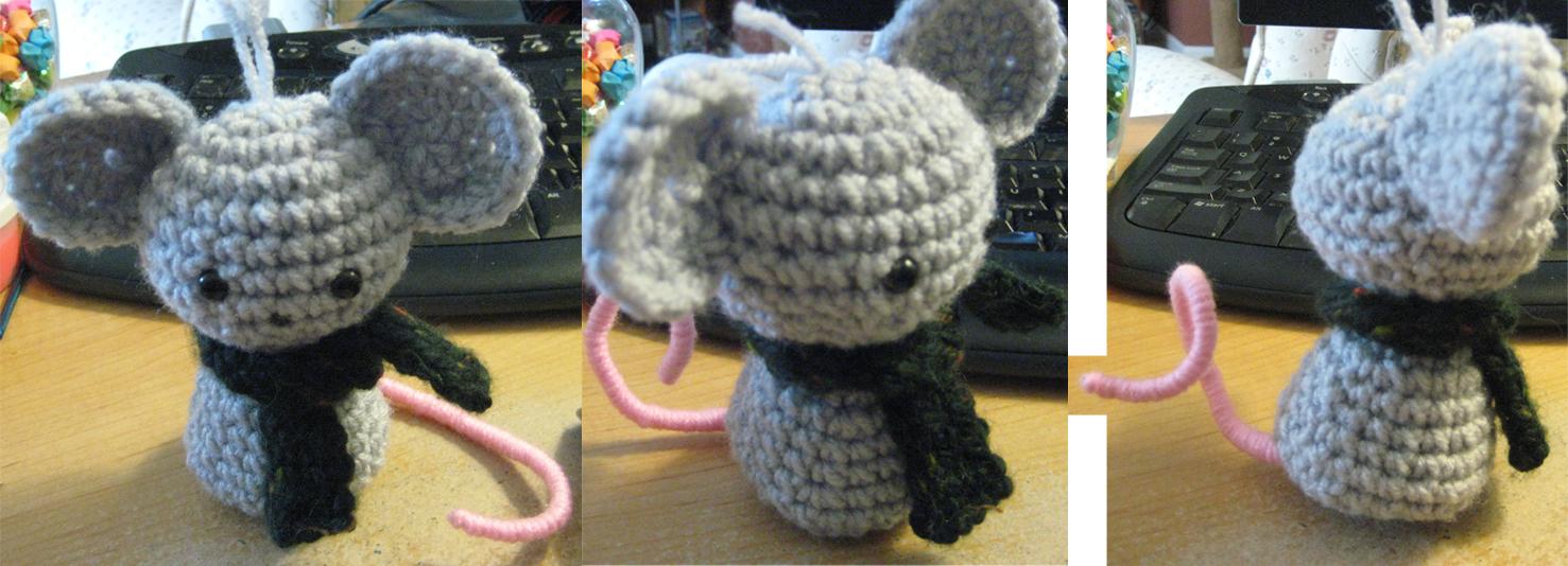 Mouse Amigurumi by cirqueducrochet