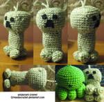 Creeper Amigurumi by cirqueducrochet