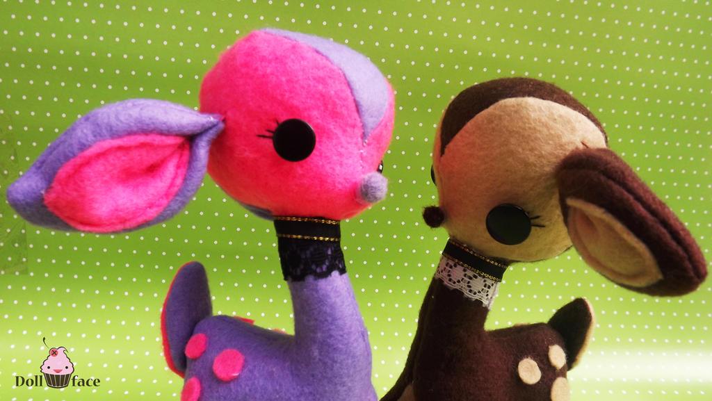Cute Fantasy Deer by Dollface-RYJ
