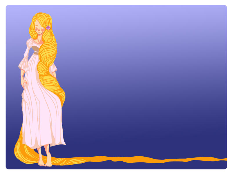 Rapunzel, Rapunzel by Hinapouri