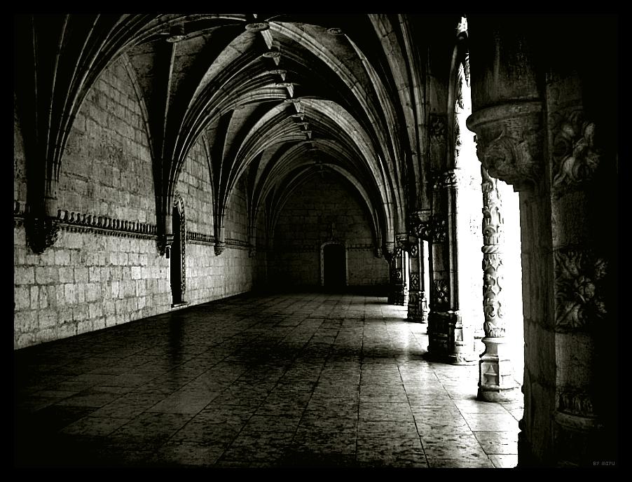Hogwart 39 s corridor by miyu252 on deviantart - Wallpaper corridor ...