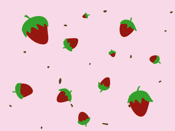 Strawberry Wallpaper By PirateQueenErin