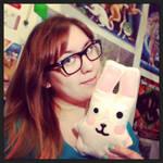 Freezer Bunny plushie