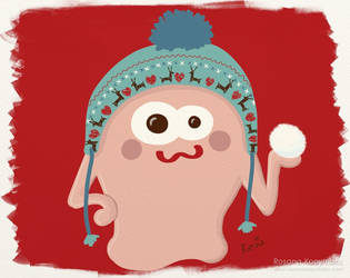 Playful Monster by rosanakooymans