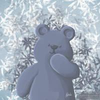 The Happy Blue Bear