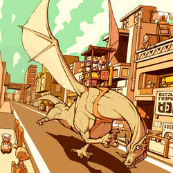 Dragon taxi