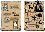 Witch's book by tsutsu-di