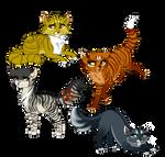 [ Warrior/Cat adopts ]