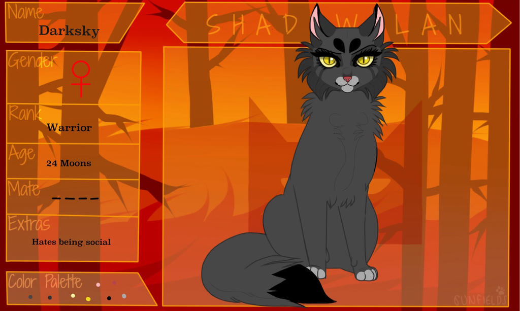Warrior Cats Darksky