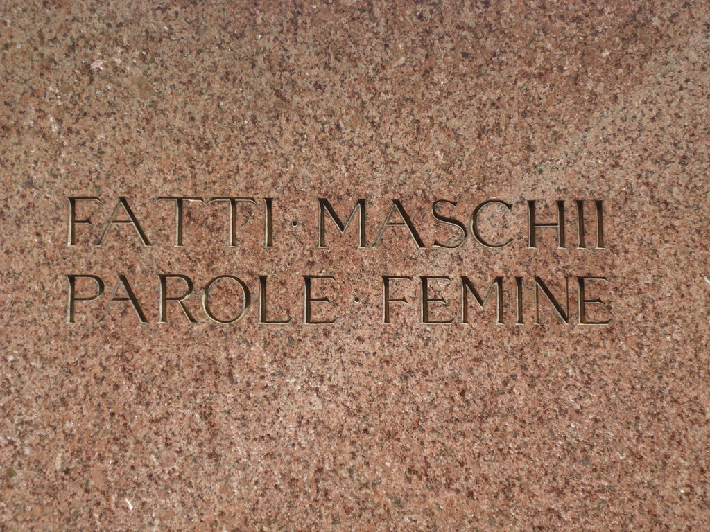 Fatti Maschii Parole Femine by single-leg