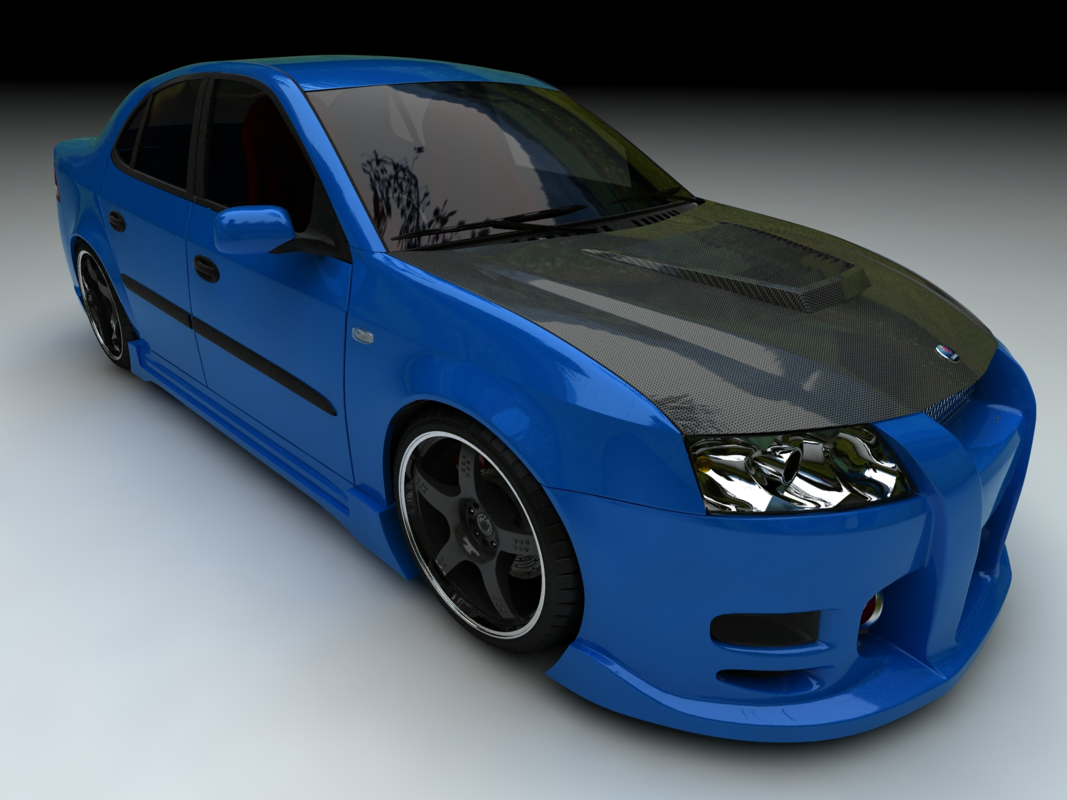 Saab 9 3 Custom By Scbmx